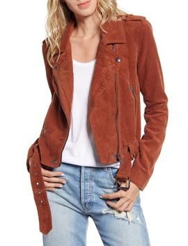 Corduroy Moto Jacket by Blanknyc