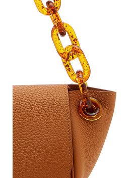 Bend Textured Leather Shoulder Bag by Simon Miller
