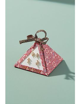 Vica Post Earring Set by Anthropologie