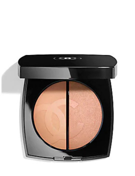 Duo Bronze Et LumiÈre Bronzer & Highlighter Duo by Chanel