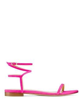 The Merinda Flat Sandal by Stuart Weitzman