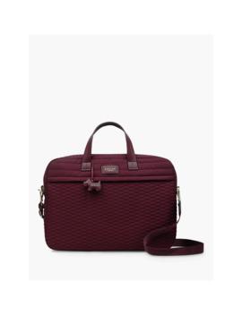 Radley Penton Mews Laptop Work Bag, Burgundy by Radley