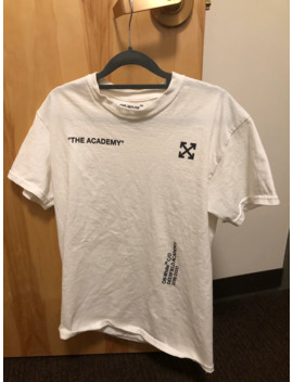 "Off White ""The Academy"" Tee by Off White  ×"
