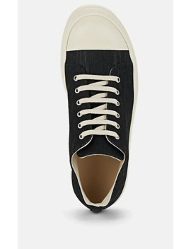 Men's Lacquered Denim Sneakers by Rick Owens Drkshdw