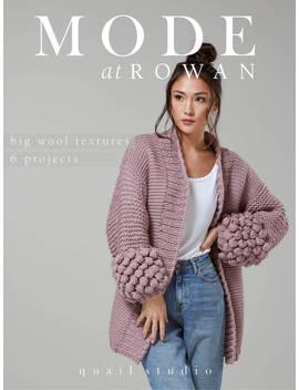 Rowan Big Wool Textures Knitting Projects Magazine by Rowan