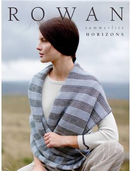 Rowan Summerlite Horizons Knitting Pattern Book by Rowan