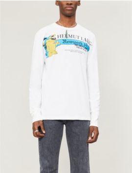 Pz Opassuksatit X Helmut Lang Long Sleeve T Shirt by Helmut Lang