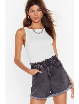 Acid Wash Where You're Goin' Denim Shorts by Nasty Gal