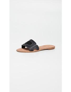 Link Slide Sandals by Diane Von Furstenberg