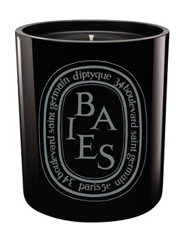 Black Baies Scented Candle by Diptyque