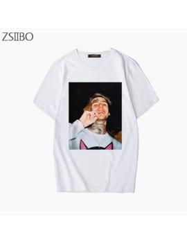 Character 3 D Print Rapper Lil Peep T Shirt Rap Hiphop Lil Peep Men's Cool Streetwear Trend T Shirt Graphic Print Tee Hip Hop Tops by Ali Express.Com