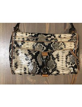 Nwot Rebecca Minkoff Mini Mac Crossbody Bag  Snake Print by Ebay Seller