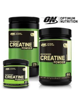 Optimum Nutrition On Creatine Pure Micronized Creatine Monohydrate Powder by Ebay Seller