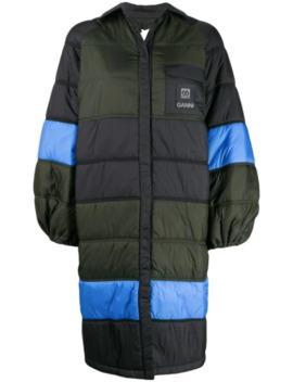Gesteppte Oversized Jacke by Ganni
