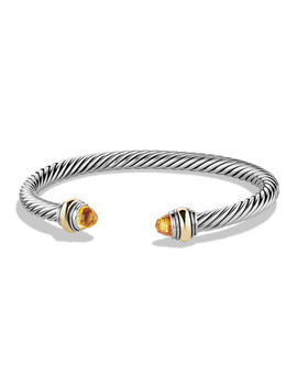 David Yurman Cable Classics Bracelet With Gold by David Yurman