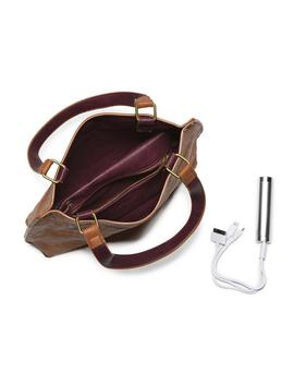 Sofia Reversible Mini Tote With Phone Charger by G.H.Bass & Co.