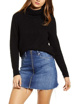 Cozy Ribbed Turtleneck Sweater by Bp.