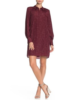 Amaranda Silk Shirt Dress by Joie