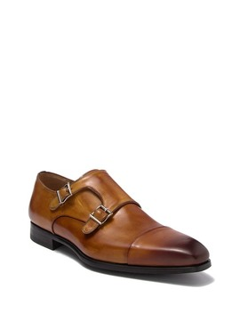 Guamet Double Monk Strap Loafer by Magnanni