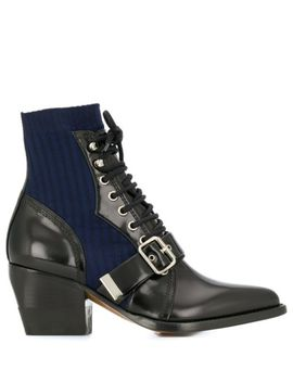 Sock Style Ankle Boots by Chloé