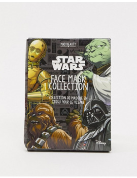 Star Wars 4 Pack Of Face Mask Set by Asos