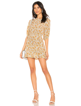Jeanete Dress In Zoella Floral by Faithfull The Brand