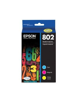 Epson 802 Standard Capacity Color Multi Pack Ink Cartridges by Epson