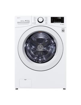 4.5 Cu. Ft. White Front Load Washing Machine With Round Door by Lg Electronics