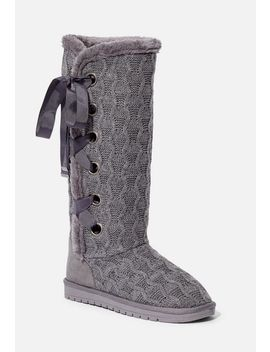 Gisele Lace Up Boot by Justfab