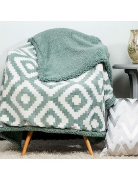 Pothier Sherpa Throw by Union Rustic