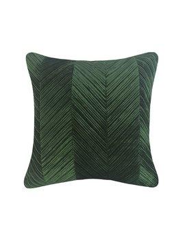 Salter Chevron Decorative Velvet Throw Pillow by Williston Forge