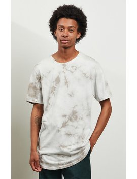 Pac Sun Crystal Wash Scallop T Shirt by Pacsun