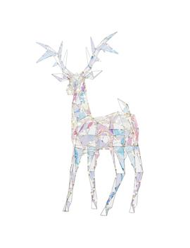 94 In. Buck Colossal (Iridescent White) by Sparkle