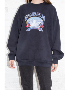 Erica Niagara Falls Sweatshirt by Brandy Melville