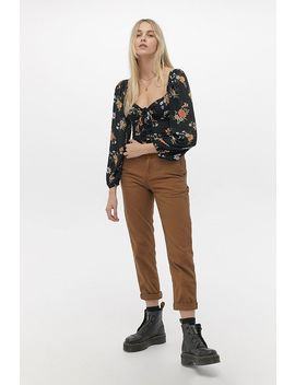 Uo Rosalind Floral Puff Sleeve Top by Urban Outfitters