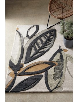 Gombo Leaf Rug by Next