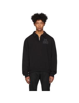 Black Ocean Half Zip Sweater by Tiger Of Sweden Jeans