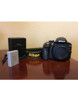 Nikon D3300 24.2 Mp Digital Dslr Camera Good by Nikon