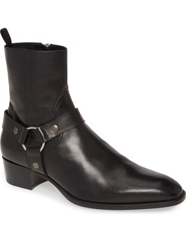 Wyatt Harness Boot by Saint Laurent