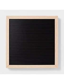 "12""X 12"" Letterboard   Room Essentials™ by Shop Collections"