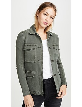 Mixed Media Surplus Jacket by James Perse