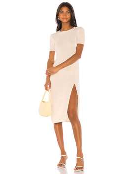 Night Air Dress In Neutral by Song Of Style