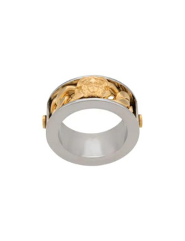 Medusa Chain Ring by Versace