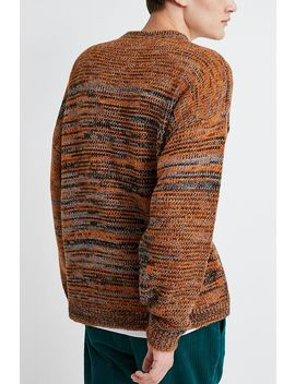 Urban Outfitters – Strickpullover Mit Verdrehtem Strickdesign In Orange by Urban Outfitters Shoppen