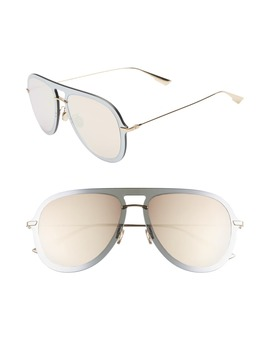 Ultime1 57mm Aviator Sunglasses by Dior