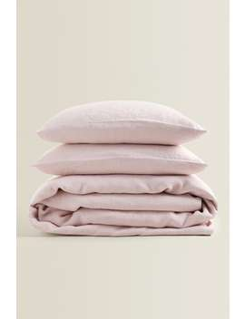 Linen Bed Set by Zara