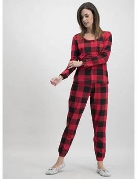 Christmas Mini Me Red Check Pyjamas   14tuc135994305 by Argos