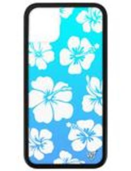 Blue Hibiscus I Phone 11 Case by Wildflower Cases
