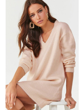 Brushed Sweater Mini Dress by Forever 21