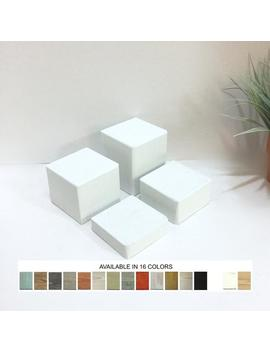 Jewelry Displays Products Platforms Risers Pedestals Wooden Blocks Props Displays Set Of 4 by Etsy